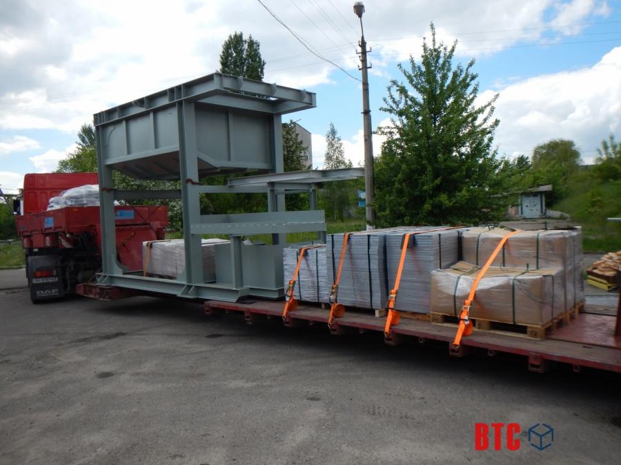 Изготовление оборудования и доставка